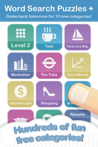 Sarah Pierce Games :: word search, puzzle, sudoku for iPhone, iPad ...